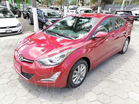 Hyundai Elantra GLS Premium Aut usado (2015) color Rojo financiado en mensualidades(enganche $51,591 mensualidades desde $6,025)