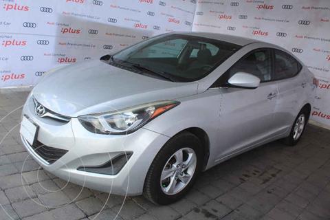 Hyundai Elantra GLS Aut usado (2016) color Plata precio $180,000