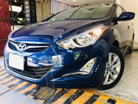 Hyundai Elantra GLS Premium Aut usado (2016) color Azul precio $173,000