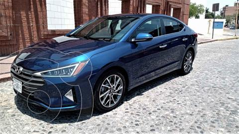 Hyundai Elantra Limited Tech Aut usado (2019) color Azul precio $305,000