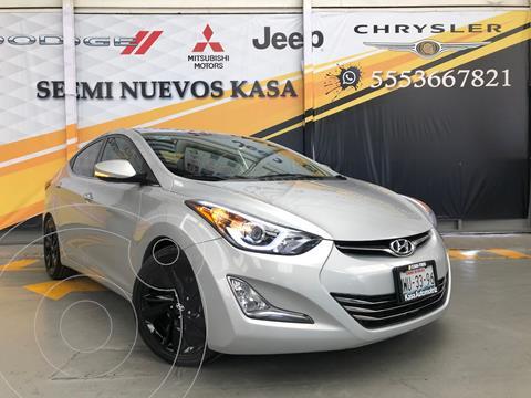 Hyundai Elantra Limited Tech Aut usado (2016) color Plata Dorado precio $220,000