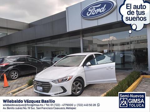 Hyundai Elantra GLS Aut usado (2018) color Blanco precio $220,001