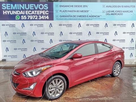 Hyundai Elantra GLS Premium usado (2015) color Rojo precio $167,400