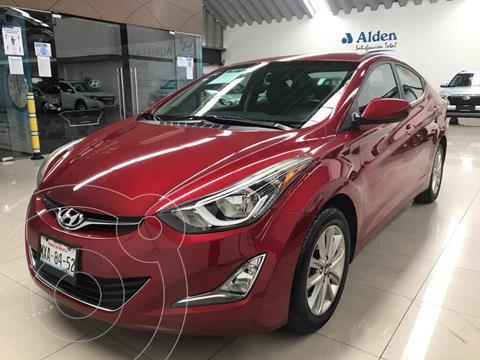 Hyundai Elantra GLS Premium Aut usado (2016) color Rojo precio $188,000
