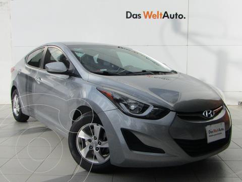 Hyundai Elantra GLS Aut usado (2016) color Plata precio $169,000