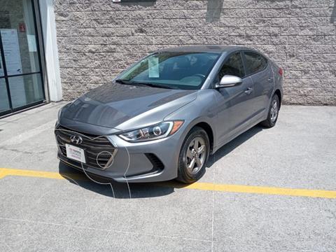 Hyundai Elantra GLS Aut usado (2018) color Gris precio $200,000