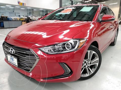 Hyundai Elantra Limited Tech Navi  usado (2018) color Rojo precio $297,900