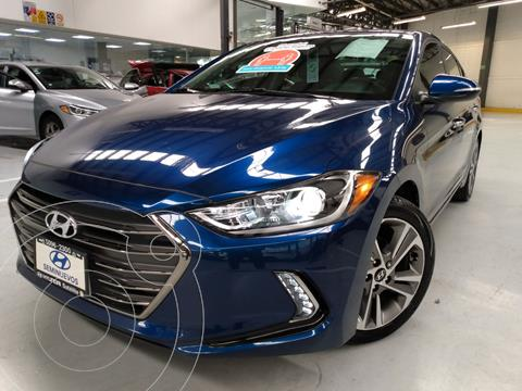 Hyundai Elantra Limited Tech Navi  usado (2017) color Azul precio $264,900