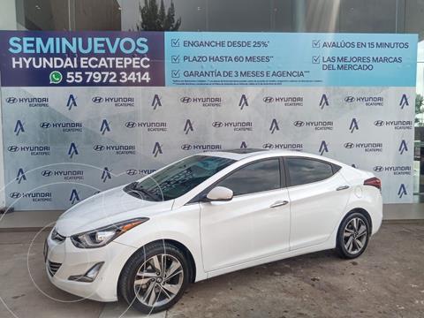 Hyundai Elantra Limited Tech Aut usado (2015) color Blanco precio $189,500