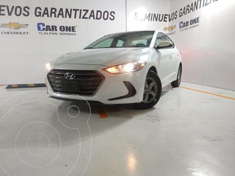 Hyundai Elantra GLS Aut usado (2018) color Blanco precio $234,999