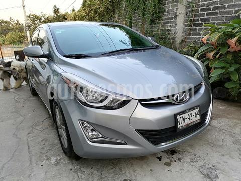 Hyundai Elantra GLS Premium Aut usado (2015) color Gris precio $140,000