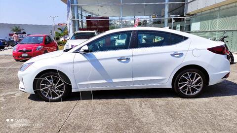 Hyundai Elantra Limited Tech Aut usado (2020) color Blanco precio $340,000