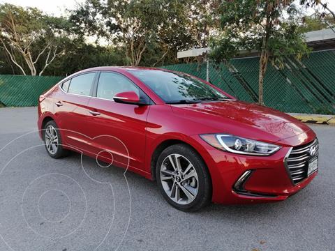 Hyundai Elantra Limited Tech Navi Aut usado (2018) color Rojo precio $249,000