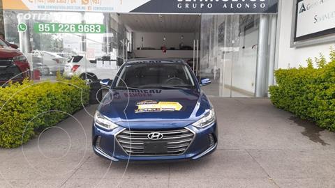 Hyundai Elantra Limited Tech Navi  usado (2017) color Azul precio $243,000