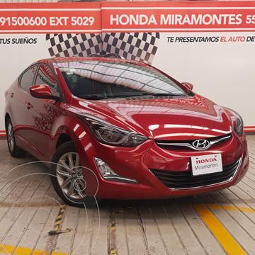 Hyundai Elantra Limited Tech Navi Aut usado (2016) color Rojo financiado en mensualidades(enganche $52,500 mensualidades desde $4,926)