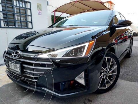 Hyundai Elantra Limited Tech Aut usado (2020) color Negro precio $369,000