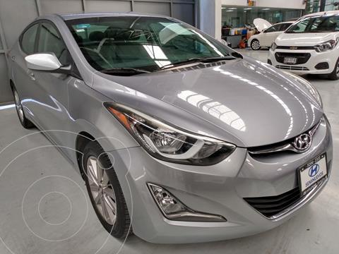 Hyundai Elantra GLS Premium usado (2015) color Gris precio $169,900