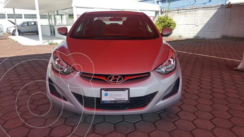 Hyundai Elantra GLS Aut usado (2016) color Plata precio $185,000