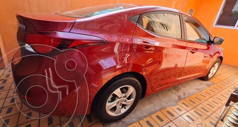 Hyundai Elantra GLS Aut usado (2016) color Rojo precio $165,000