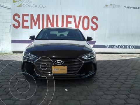 Hyundai Elantra GLS usado (2018) color Negro precio $298,000