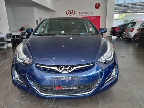 Hyundai Elantra GLS Premium Aut usado (2016) color Azul precio $189,000