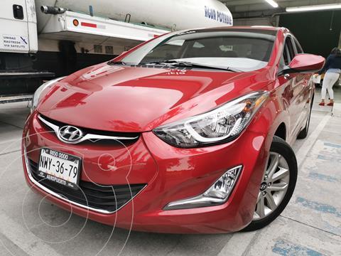 Hyundai Elantra GLS Premium Aut usado (2016) color Rojo precio $190,000