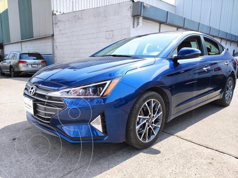 foto Hyundai Elantra LIMITED TECH 4P L4 2.0L VP BA QC AC R17 NAVI AUT usado (2019) color Azul precio $280,000
