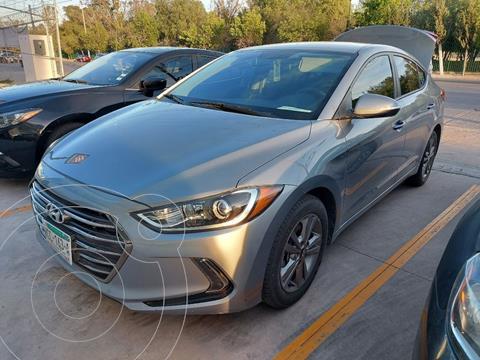 Hyundai Elantra GLS Premium usado (2017) color Gris precio $220,000
