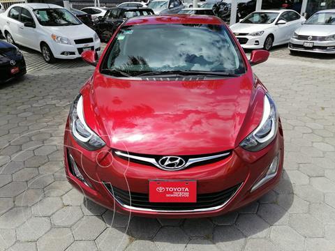 Hyundai Elantra GLS Premium Aut usado (2015) color Rojo precio $175,000