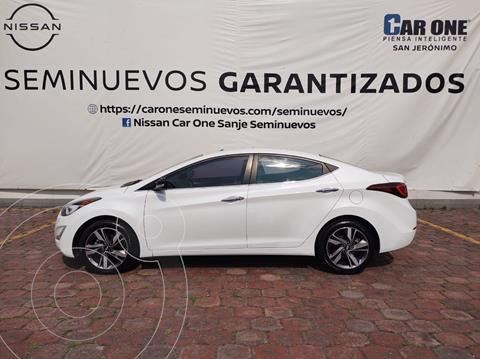 Hyundai Elantra GLS Premium Aut usado (2015) color Blanco precio $182,000