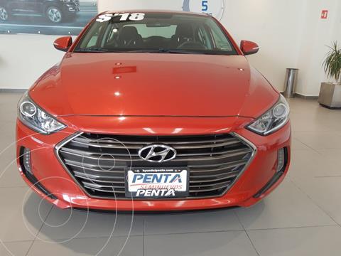 Hyundai Elantra GLS Premium usado (2018) color Rojo precio $270,000