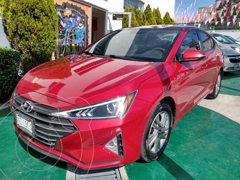 Hyundai Elantra GLS Premium Aut usado (2020) color Rojo precio $320,000