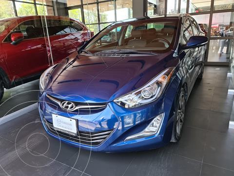 Hyundai Elantra Limited Aut usado (2016) color Azul precio $199,000