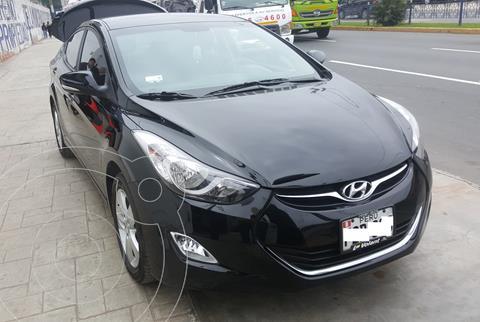 Hyundai Elantra  GLS 1.6L usado (2013) color Negro precio u$s11,950