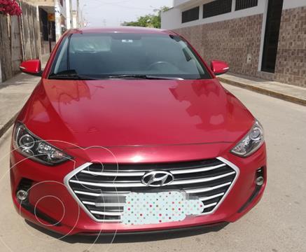 Hyundai Elantra  1.6L GL Full usado (2017) color Rojo precio u$s15,000