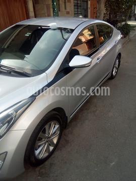 Hyundai Elantra  GLS 1.6L Aut usado (2014) color Gris precio u$s11,600