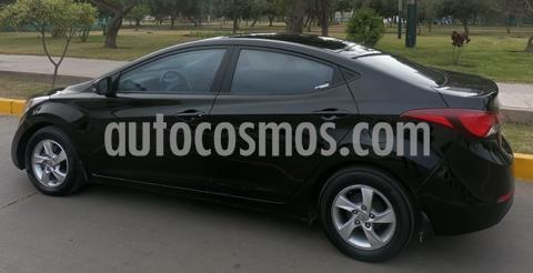 Hyundai Elantra  1.6L GLS Style usado (2014) color Negro precio $10,900