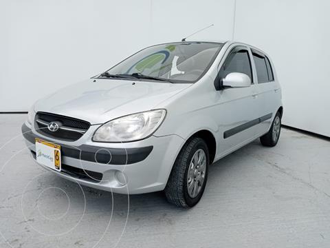 Hyundai Getz 5P 1.6L Aut usado (2011) color Plata precio $22.990.000