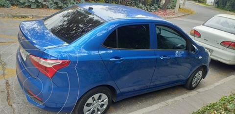 Hyundai Grand i10 Sedan 1.2L GL Ac usado (2020) color Azul precio $7.900.000