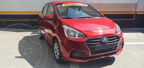 Hyundai Grand i10 Sedan GL MID Aut usado (2020) color Rojo precio $195,000
