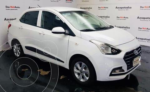 Hyundai Grand i10 Sedan GLS usado (2020) color Blanco financiado en mensualidades(enganche $39,600 mensualidades desde $4,580)