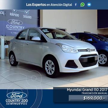 Hyundai Grand i10 Sedan GL usado (2017) color Plata precio $169,000