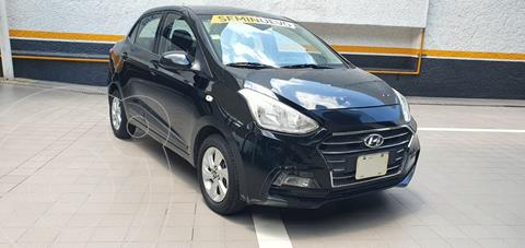 Hyundai Grand i10 Sedan GLS usado (2019) color Negro precio $190,000