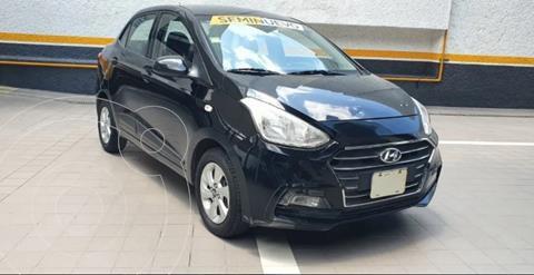 Hyundai Grand i10 Sedan GLS usado (2019) color Negro precio $195,000