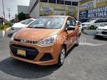 Foto venta Auto usado Hyundai Grand i10 4p GL L4/1.2 Man (2015) color Naranja precio $133,900