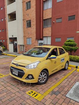 Hyundai Grand i10 Kappa 1.0 usado (2017) color Naranja precio $95.000.000
