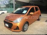 Foto venta Auto Seminuevo Hyundai Grand i10 GL MID (2018) color Naranja precio $169,000