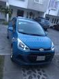 Foto venta Auto usado Hyundai Grand i10 GL (2017) color Azul precio $135,000