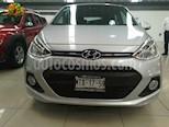 Foto venta Auto usado Hyundai Grand i10 GLS (2015) color Plata precio $137,000