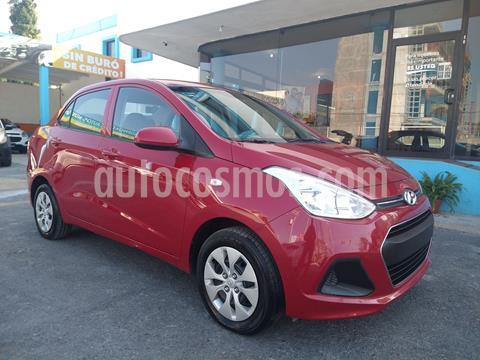 Hyundai Grand i10 GLS usado (2017) color Rojo precio $145,000
